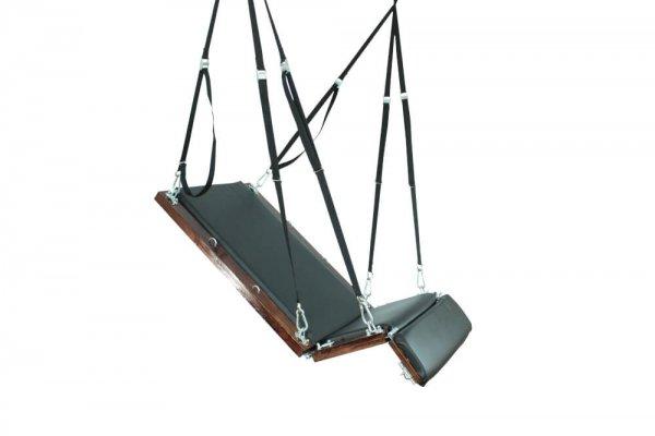 Tied Tight Platform Swing seated